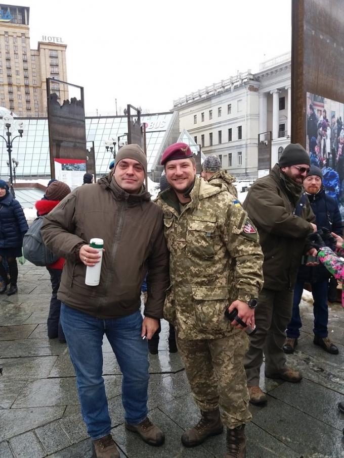 """Кофе на Крещатике"": появились фото и видео акции в центре Киева (2)"
