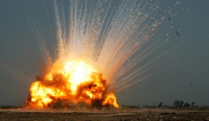 Прогремел взрыв на китайской фабрике фейерверков