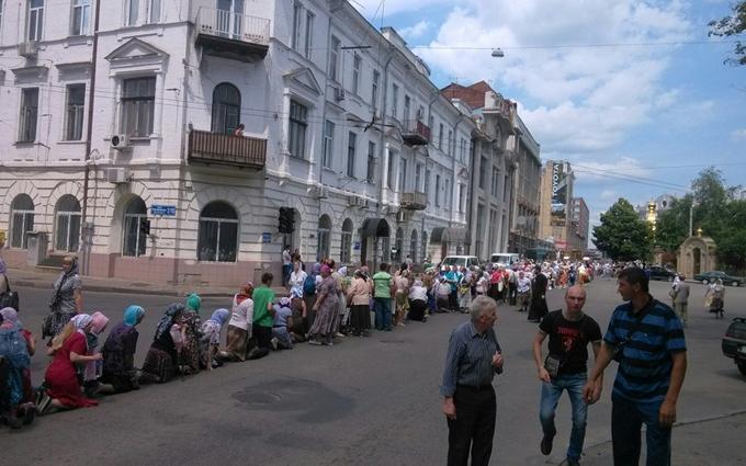 Хресна хода з сепаратистами у Харкові: з'явилися нові фото