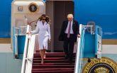 Мелания Трамп в Израиле не захотела брать за руку своего мужа: появилось видео