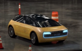 Появилось шпионское видео первого автомобиля Apple