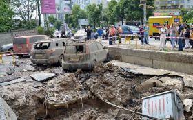 Масштабный прорыв трубы в Киеве произошел из-за испытаний коммунальщиков: опубликованы фото