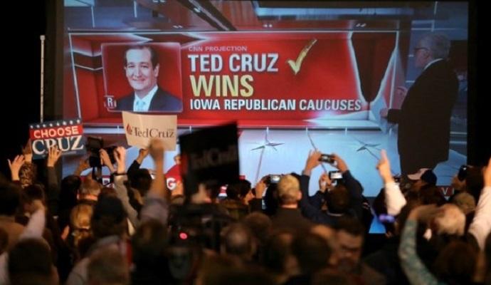 Президентская гонка в США: Айова выбрала Клинтон и Круса (видео)