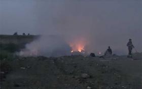 Николаев из-за пожара на свалке накрыл ядовитый дым: опубликовано видео