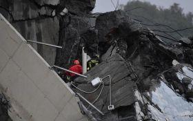 Обрушение моста в Генуе: у пострадавшей украинки диагностирован перелом позвоночника
