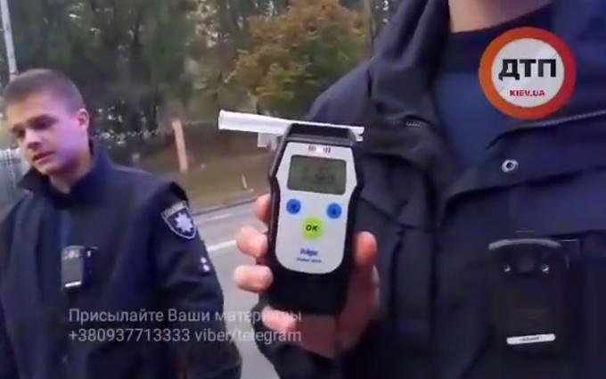 Поліція в Києві погналася за п'яним водієм: опубліковано яскраве відео