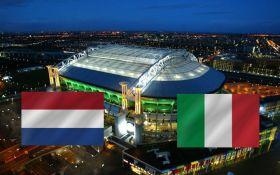 Нидерланды - Италия - 1-2: онлайн матча