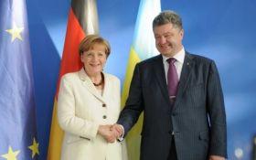 Порошенко і Меркель обговорять спільний тиск на Росію у питанні Донбасу - МЗС