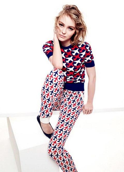 Лили Роуз Депп в фотосессии для Vanity Fair (1)