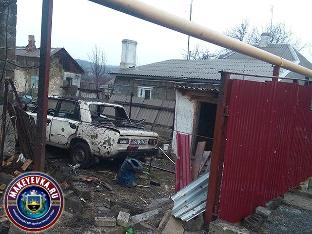 Боевики обстреляли оккупированную ими Макеевку: появились фото (1)