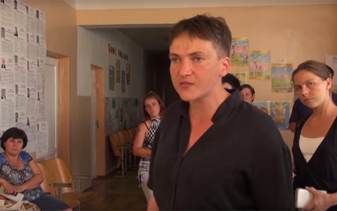 Савченко влаштувала розборки на Луганщині: опубліковано відео