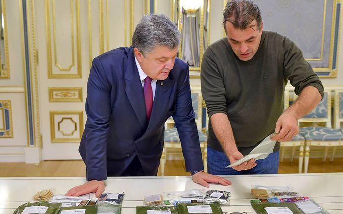 Порошенку показали смачну їжу для військових: опубліковані фото