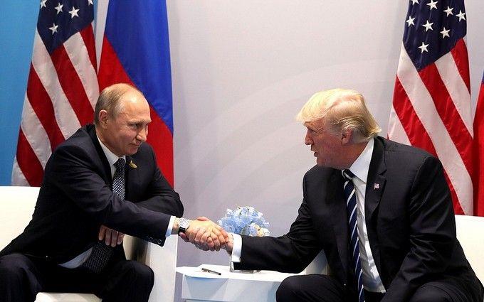 """Трамп провел """"отличный"""" разговор с Путиным"""