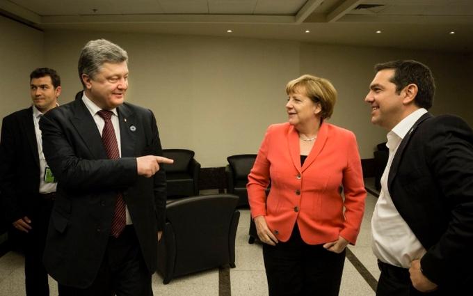 Усміхнена Меркель і задоволений Порошенко: з'явилися фото з саміту ООН