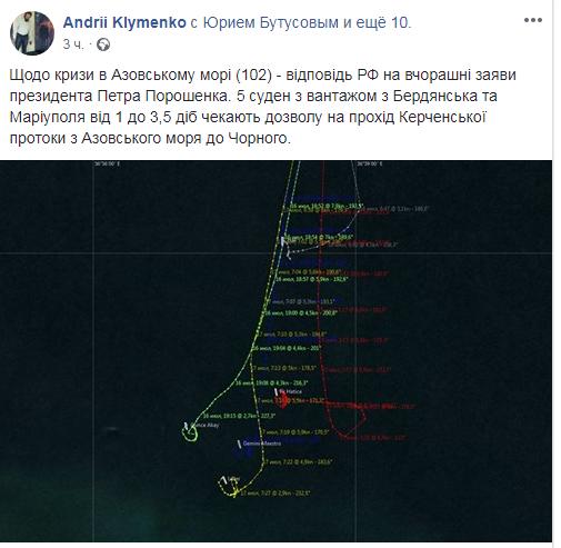 В ответ на угрозы Порошенко: стало известно о новых провокациях России в Азовском море (1)