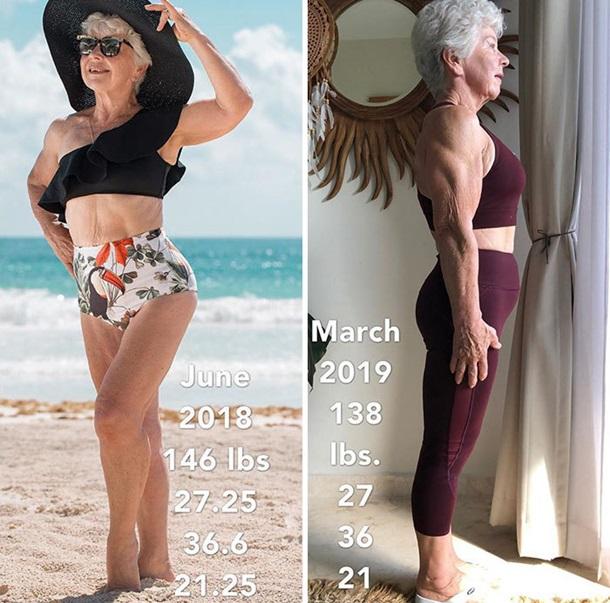 Жінка в 73 роки стала фітнес-моделлю - вражаючі світлини (2)