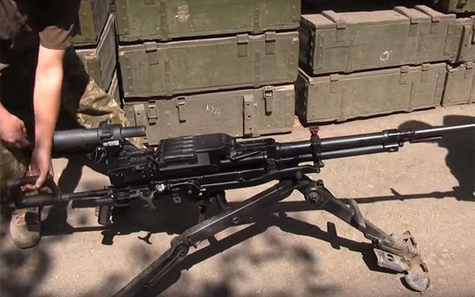 Бійці АТО на Донбасі відбили у ворога «кулемет Пореченкова»: з'явилося відео