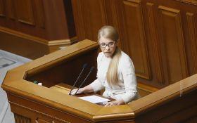 """Руководство Минздрава и НАБУ должно отчитываться в Раде по ситуации с """"уничтожением"""" украинцев - Тимошенко"""