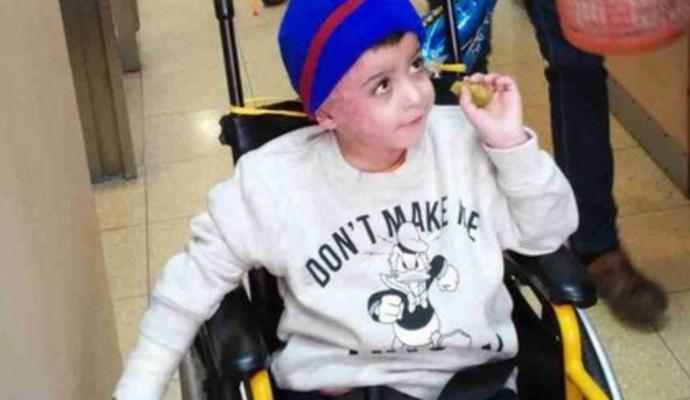 Роналдо зустрінеться з палестинським хлопчиком-сиротою