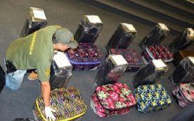 Російські дипломати намагались вивезти з Аргентини 12 валіз з кокаїном