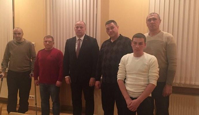 Военные ВСУ приехали на лечение в Латвию
