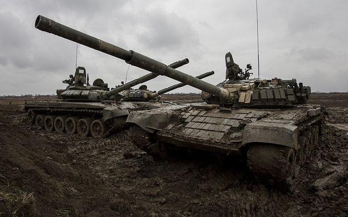 ОБСЕ нашла скопление из50 танков боевиков уДонецка