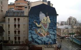 Фантастичний мурал у Києві визнали одним із кращих в світі: опубліковано відео і фото