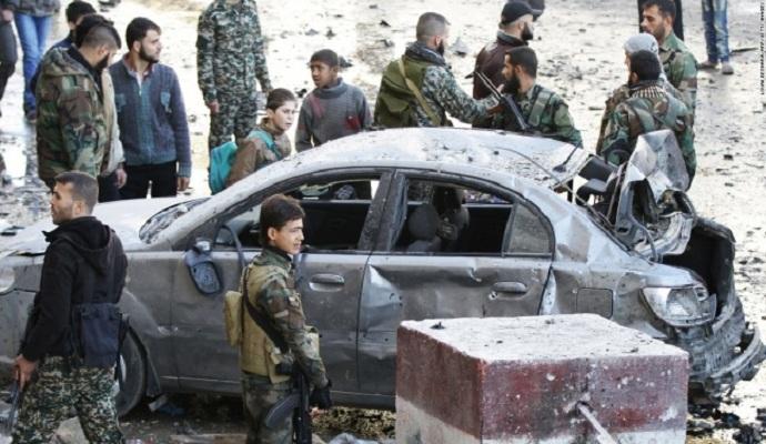 Двойной теракт в Дамаске: есть жертвы