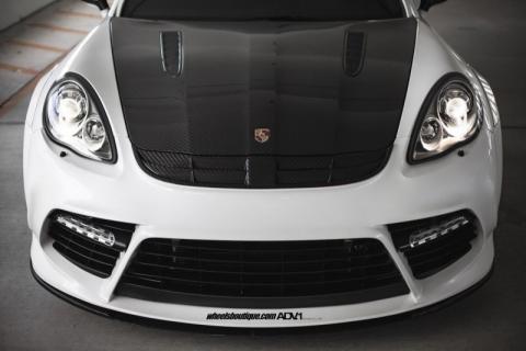 Porsche Panamera від Mansory на дисках ADV.1 Wheels (12 фото) (6)