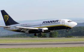 Авіакомпанія Ryanair обмежить безкоштовний провіз ручної поклажі