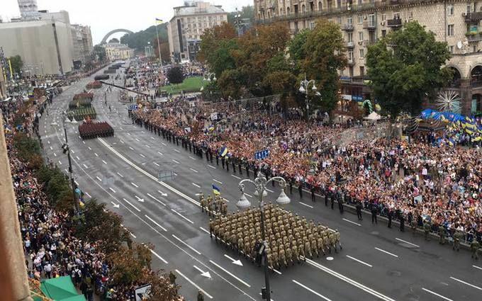 Парад в Киеве: сеть поразила трогательная и мощная история