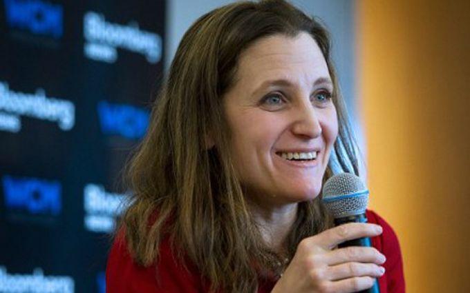 Украинка стала главой МИД Канады: появились поздравления Порошенко