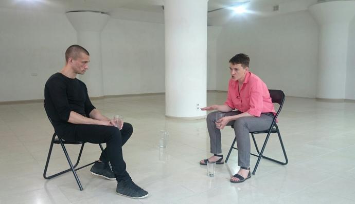 Савченко в Києві зустрілася зі знаменитим противником Путіна: опубліковані фото (1)