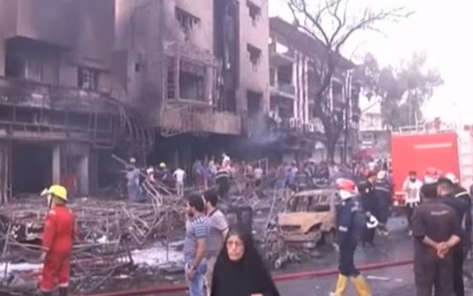 У Багдаді стався масштабний теракт: відео з місця подій
