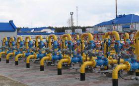 Україна сильно скоротила запаси газу в підземних сховищах