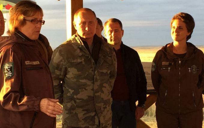Соцмережі підірвав Путін, який відпустив коней: з'явилося фото і відео