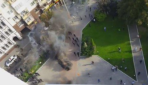 Чергове побоїще в Києві: з'явилися дані про постраждалих і нове відео (2)