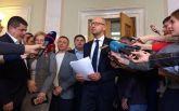 Инцидент с важнейшим законом: Яценюк попросил Порошенко наказать своих нардепов