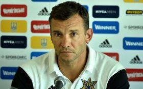 Шевченко пояснив вибір найближчого суперника збірної України
