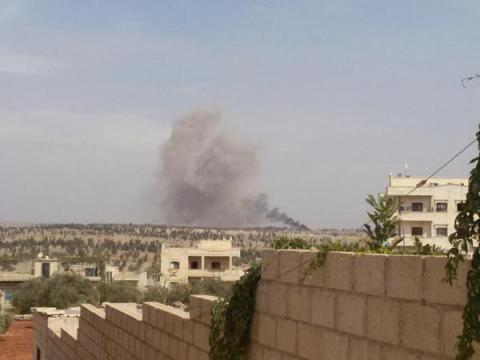 Росія відновила бомбардування Сирії