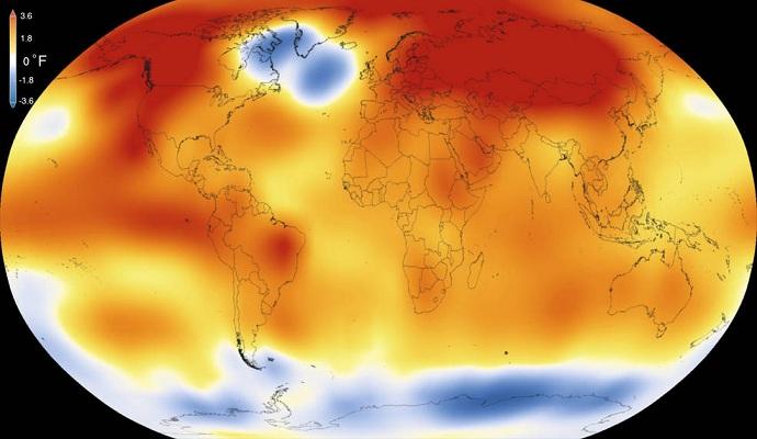 Прошлый год был самым жарким в истории метеонаблюдений - NASA