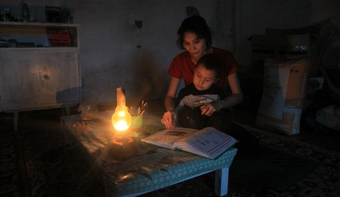 В Крыму люди жалуются на отсутствие света
