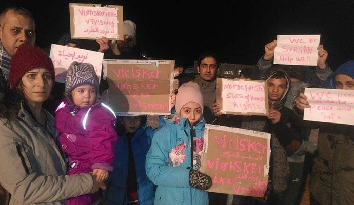 Біженці оголосили голодування в Норвегії, протестуючи проти депортації до РФ