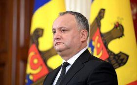 """Додон назвал главную """"ошибку"""" Украины в отношении  РФ"""