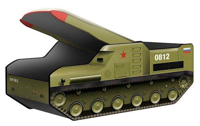 Ракетній установці, з якої збили Boeing на Донбасі, в Росії присвятили дитяче ліжко