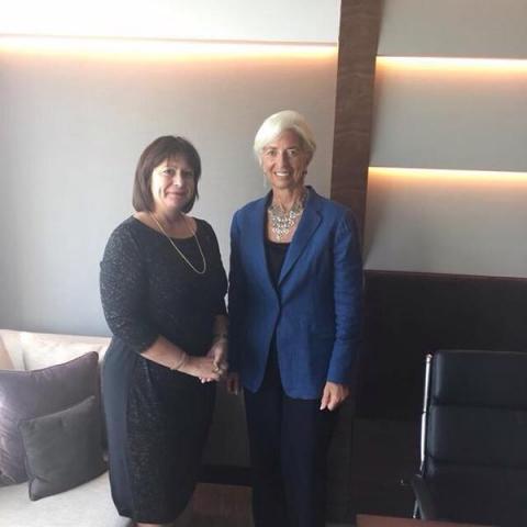 Яресько провела переговори з главою МВФ (2 фото) (1)