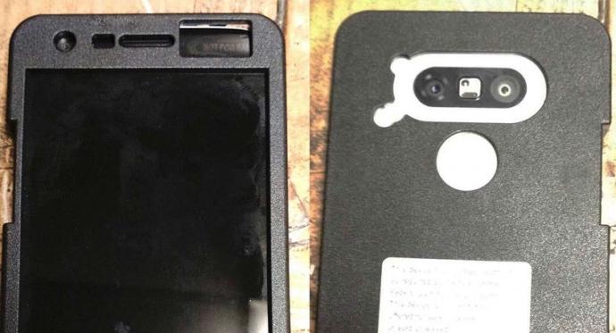 В Сети появились шпионские снимки флагманского фаблета LG G5 (5 фото)