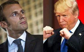 Макрон і Трамп домовились зустрітись на саміті НАТО