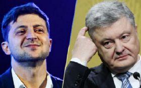 """В России будут транслировать дебаты Порошенко и Зеленского, однако есть одно """"но"""""""