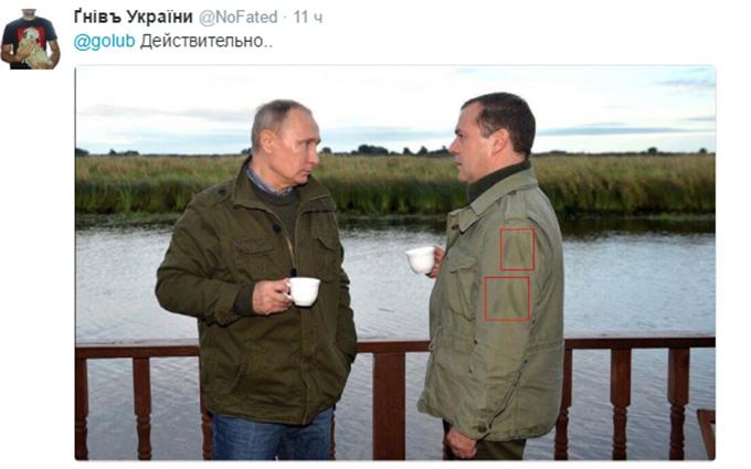 Прем'єра Росії викрили в любові до армії США: опубліковано фото (4)